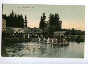 247342 Czech Prameny Bad Sangerberg swimming pool children OLD