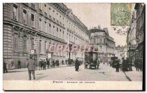 Paris Postcard Former Bank of France