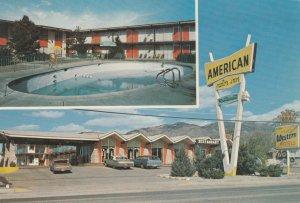 RT 66 ; ALBUQUERQUE , New Mexico , 1977 ; The American Motor Inn