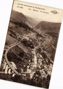 CPA Le Jura-MOREZ-Vue générale (263747)