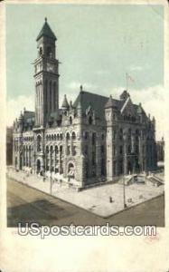 Post Office Detroit MI 1909