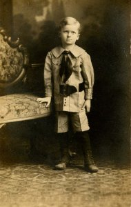 Children - Ivan Stanley, 5 years old          *RPPC