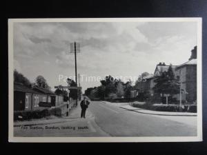 East Hampshire BORDON Fire Station looking south c1950's by T.V.A.P. 1607