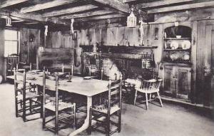 Massachusetts South Sudbury Longfellows Wayside Inn The Old Kitchen Albertype