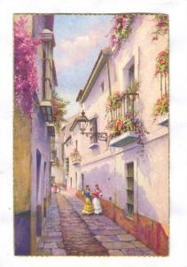 Sevilla - Calle Susona, Spain, 1930s