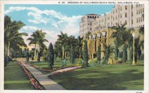 Florida Hollywood Grounds Of Hollywood Beach Hotel