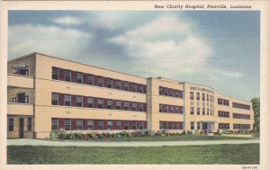 Louisiana Pineville New Charity Hospital 1941 Curteich sk2349