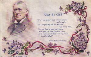 James Whitcomb Riley Just Be Glad 1910