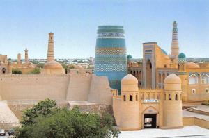 Uzbekistan Chiwa Die General Art Panorama