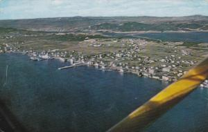 Aerial VIew of Bay Roberts, Newfoundland, Canada, PU-1966