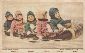 Dionne Quintuplets (Yvonne, Marie, Cecile, Annette, Emilie) ,Callander, 1930s #9