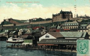 Canada Chateau Frontenac and Citadel Quebec 04.01