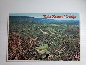 Vintage Postcard Tonto Natural Bridge Payson Arizona 1985 unposted   309