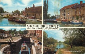 Stoke Bruerne and the Grand Union Canal postcard