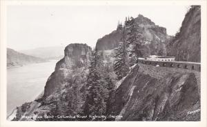 Inspiration Point Columbia River Highway Oregon Real Photo