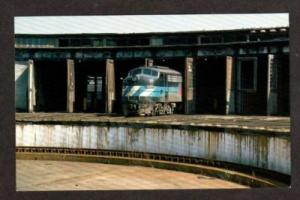 HARRISBURG PENNSYLVANIA PENN PA AMTRAK Railroad Train