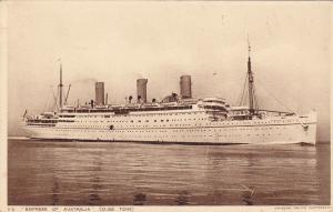 Oceanliner/Steamer/Ship, S. S. Empress Of Australia (22,000 Tons), 1910-1920s