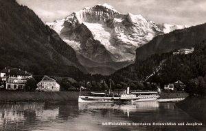 Schiffeinfarht in Interlaken,Switzerland BIN