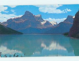 Unused Pre-1980 LAKE SCENE Jasper National Park Alberta AB F3166