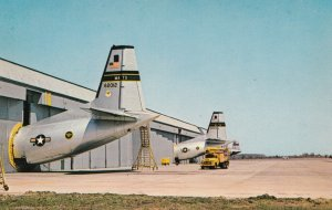 DOVER , Delaware , 50-60s AFB Airplane Hangers