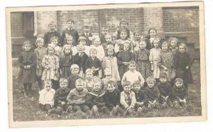 RP, School Picture, Children, Hamilton, Ontario, Canada, 1910-1920s