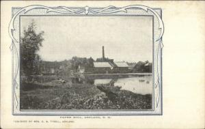 Ashland NH Paper Mill c1910 Postcard