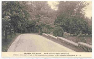 Bethany Rest House, View Of Road From Entrance, Ossining-On-Hudson, New York,...