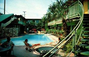 California Huntington Park The Toles Hotel 1957