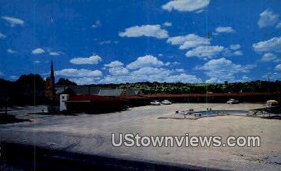 Flying Lodge Ozona TX 1957