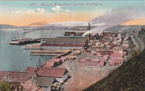 EVERETT, Washington, 1900-1910s; View of Water Front