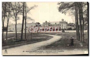 Old Postcard Saint Germain en Laye Lodges overview house of Education of the ...