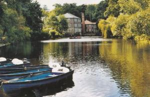 Jane & Helen Boats On The River Nidd Yorkshire Postcard