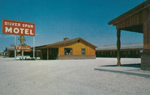 AMARILLO , Texas , 1950-60s ; Silver Spur Motel, U.S. Highways 60 and 66