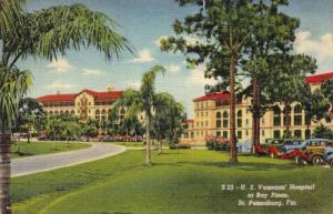 Exterior, U.S.Veterans Hospital at Bay Pines,St.Petersburg,Florida,PU-1941