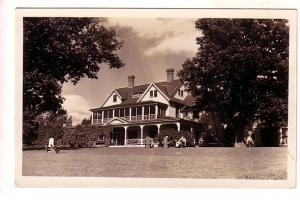 Oakledge Manor, Burlington, Vermont, Row Boats, Real Photo