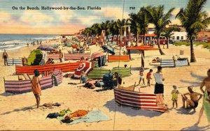 Florida Hollywood-By-The-Sea Scene On The Beach