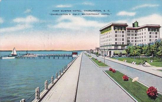 Fort Sumter Hotel Charlestons Only Waterfront Hotel Charleston South Carolina