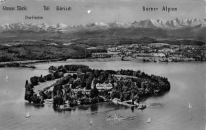 Switzerland Insel Mainau im Bodensee Island Lake Altmann Santis Postcard