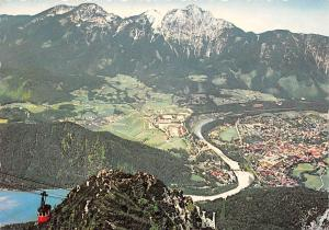 Bad Reichenhall Saalachsee mit Staufen Lake Cable Car Mountain Panorama
