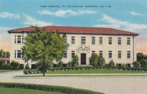 ANNISTON , Alabama , 30-40s; Post Hospital, Ft. McClellan