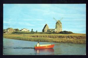 Gloucester, Massachusetts/Ma MA/Mass Postcard, Windmill Old Mill-Point, Cape Cod