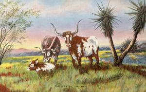 Pioneers of the West    Artist: L.H. (Dude) Larsen