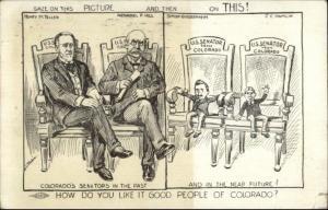 Colorado Senators Political Satire Teller Hill Hamlin Guggenheim SCARCE PC myn