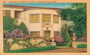 USA Home of Claudette Colbert Holmby Hills California 03.71