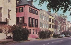 CHARLESTON, South Carolina, 1940-1960´s; Rainbow Row