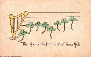 ?Vintage Postcard 1911 The Harp That Once Thro Tara's Halls by Little Art Shop