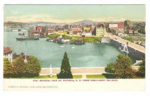 General View of Victoria from Parliament Buildings, British Columbia, Canada,...