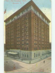 Divided Back THE ONONDAGA HOTEL Syracuse New York NY HQ4981