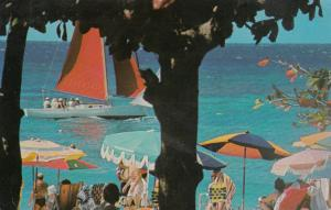 Doctor's Cave Beach , Jamaica , WI ,  1970 ; Montego Bay