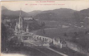 Vue Plongeante Sur La Basilique, LOURDES (Hautes Pyrenees), France, 1900-1910s
